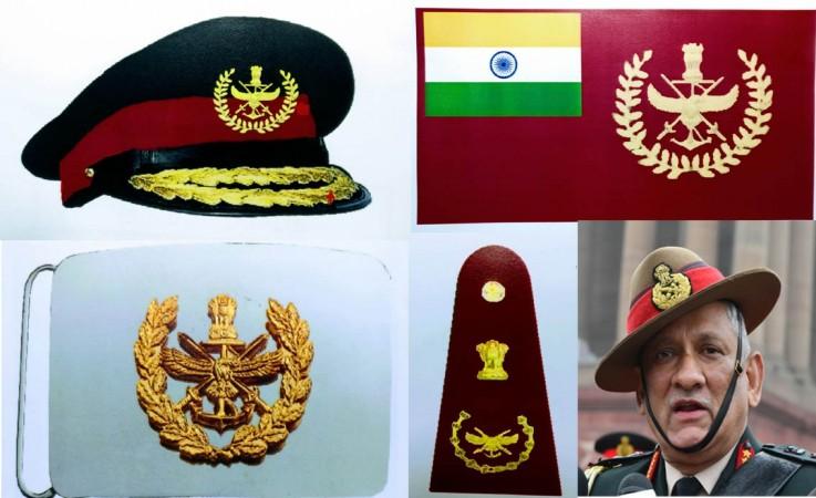 Bipin Rawat uniform