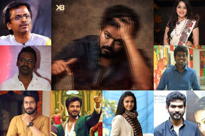 Master aka Thalapathy 64: Here is Celebs Reaction for Vijay's poster