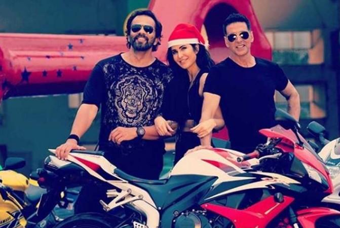 Rohit Shetty, Katrina Kaif, Akshay Kumar