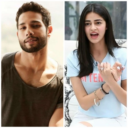 Ananya Panday and Siddhant Chaturvedi