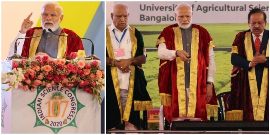 PM Modi at the 107th Indian Science Congress