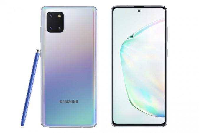 Samsung Galaxy Note 10 Lite goes official