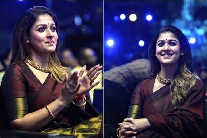 Nayanthara at the Zee Cine Awards Tamil 2020