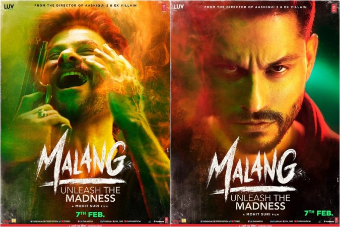 Anil Kapoor and Kunal Khemu's first look posters from Malang