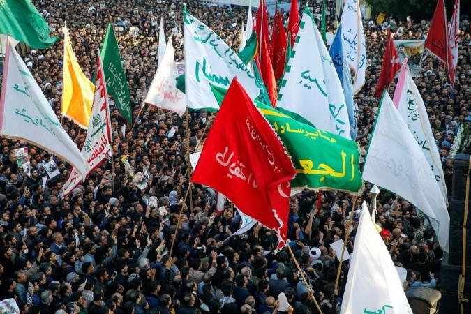 Qasem Soleimani funeral