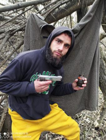 Hizbul Mujahideen terrorist Zahid Hassan Gadhanji.