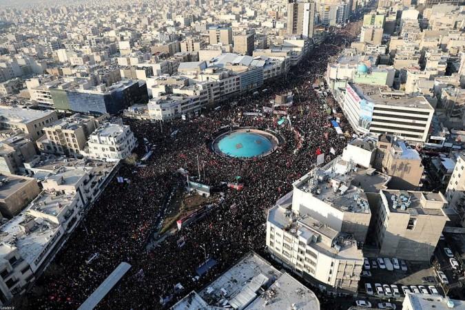Qassem Soleimani funeral