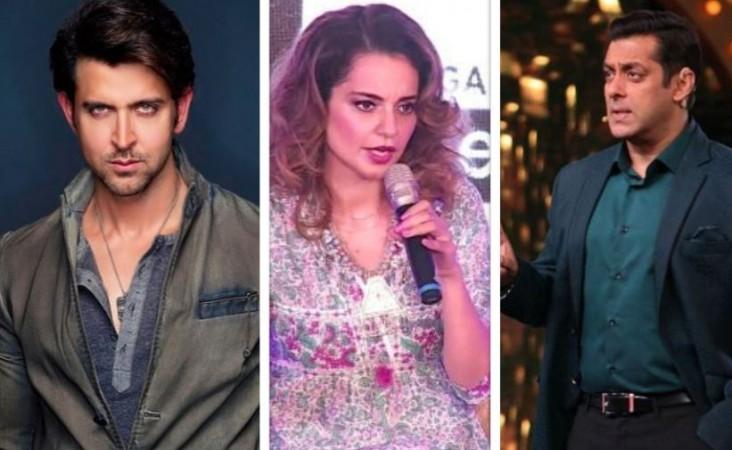 Hrithik Roshan, Kangana Ranaut, Salman Khan