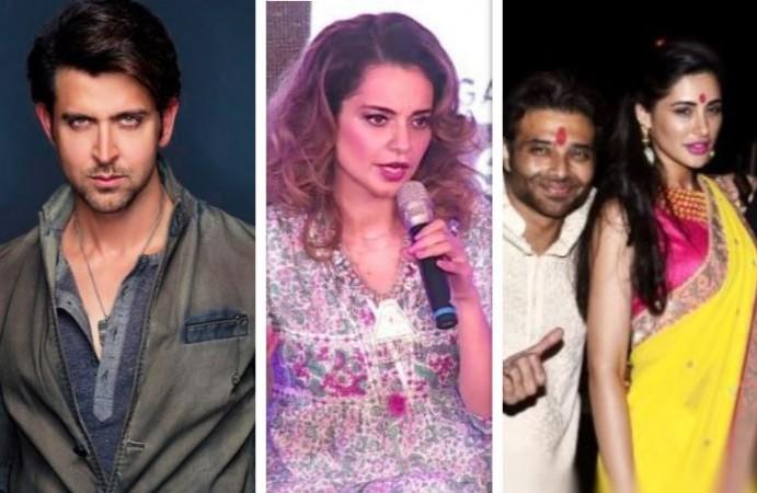 Hrithik Roshan, Kangana Ranaut, Uday Chopra, Nargis Fakhri