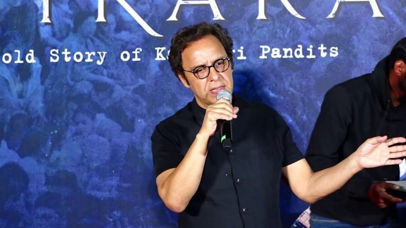 Vidhu Vinod Chopra at Shikara Trailer launch