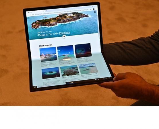 Intel's foldable tablet