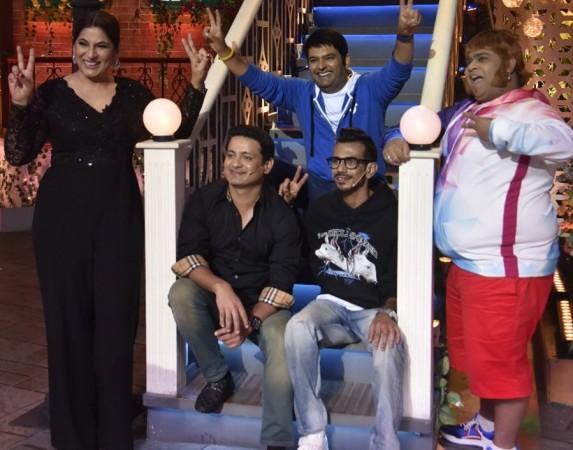 Yuzvendra Chahal and Piyush Chawla on The Kapil Sharma Show
