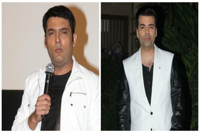 Kapil Sharma and Karan Johar