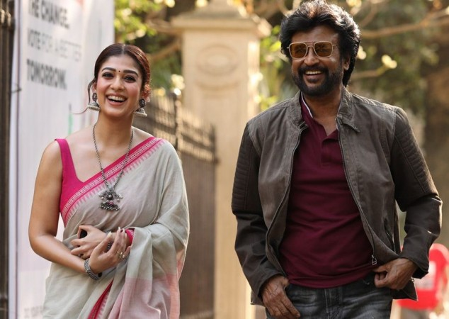 Rajinikanth with Nayanthara