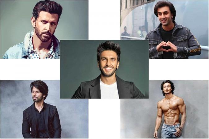 Hrithik Roshan, Ranveer Singh, Shahid Kapoor, Ranbir Kapoor and Tiger Shroff