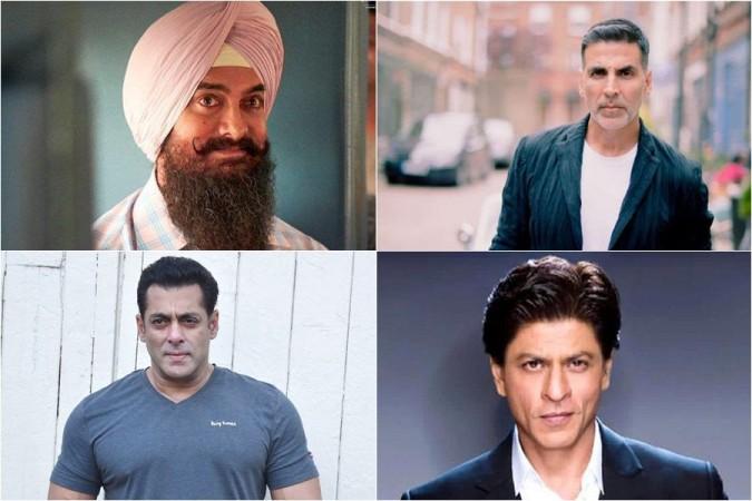 Shah Rukh Khan, SRK, Salman Khan, Aamir Khan and Akshay Kumar