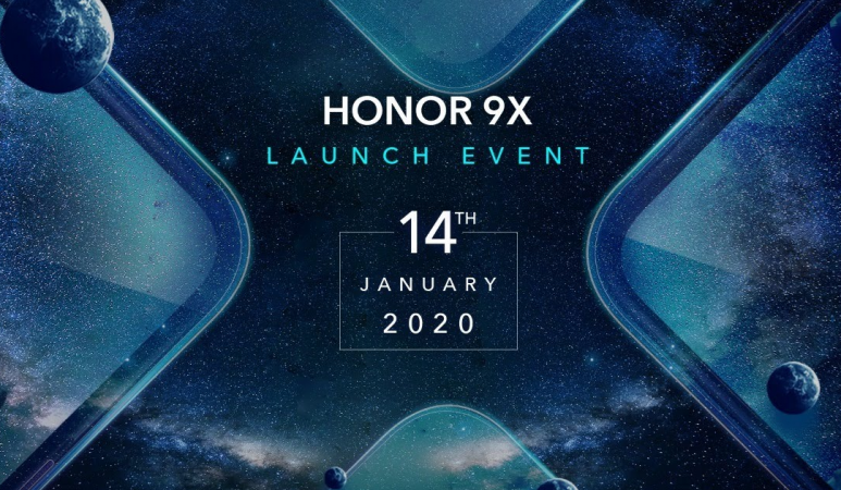 Honor 9X launch live streaming