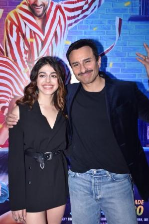 Saif Ali Khan and Alaya
