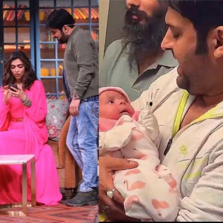 Kapil Sharma with his daughter