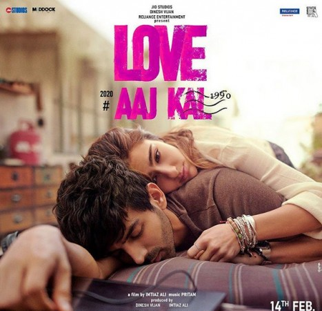 Sara Ali Khan, Kartik Aaryan in Love Aaj Kal