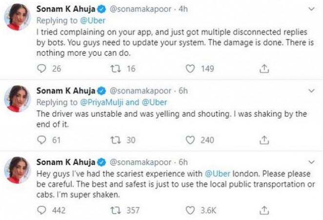 Sonam Kapoor tweet