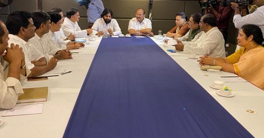 Pawan Kalyan announces JSP's alliance with BJP in Andhra Pradesh