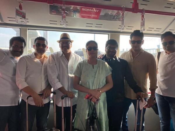 Sarileru Neekevvaru team heading to offer prayers to Lord Venkateshwara in Tirupati