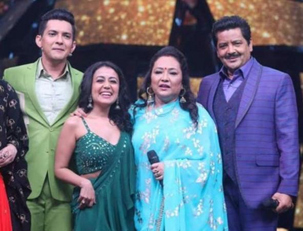 Aditya Narayan, Neha Kakkar, Deepa Narayan, Udit Narayan