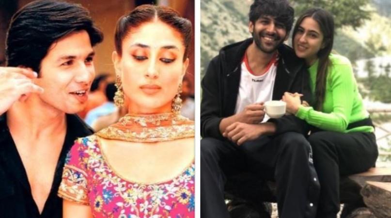 Kareena Kapoor, Shahid Kapoor, Kartik Aaryan, Sara Ali Khan