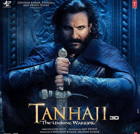 Saif Ali Khan in 'Tanhaji: The Unsung Warrior'