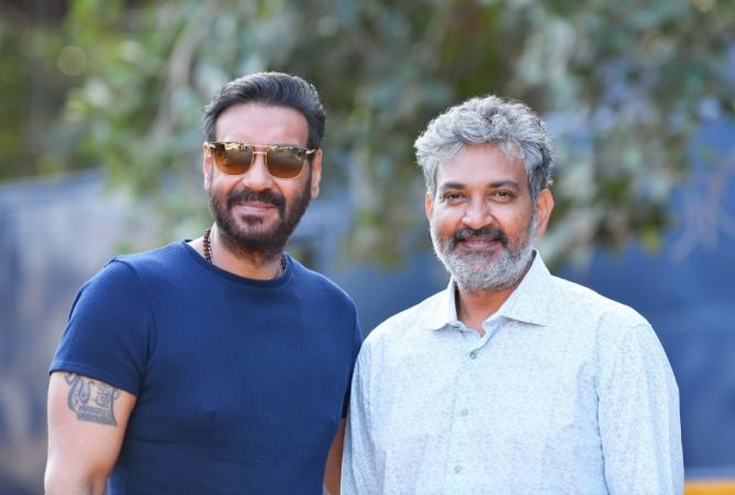 Ajay Devgn starts shooting for SS Rajamouli's movie RRR