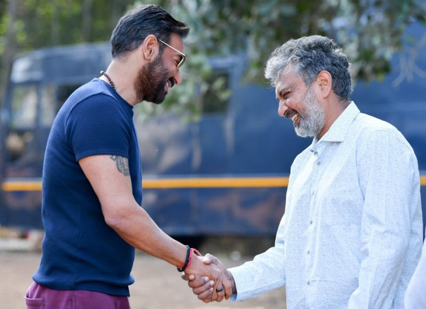 Ajay Devgn starts shooting for SS Rajamouli's movie RRR