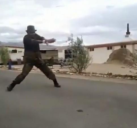 indian army dance uri