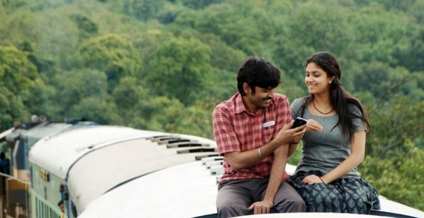 Dhanush and Keerthy Suresh