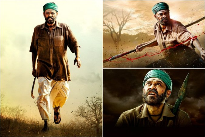 Venkatesh's first look from Naarappa