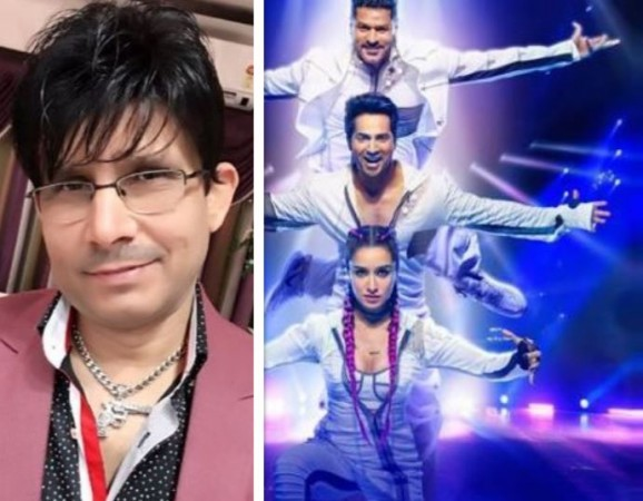 Kamaal R Khan (KRK) reviews Street Dancer 3D