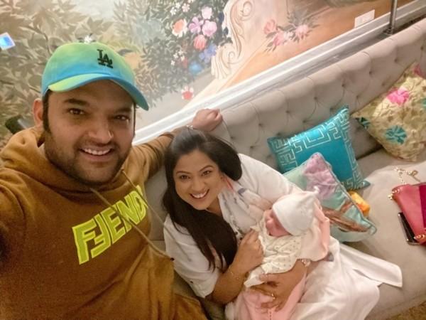 Kapil Sharma, Ginni Chatrath, daughter Anayra Sharma, Richa Sharma