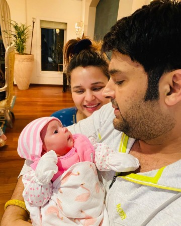 Kapil Sharma, Ginni Chatrath, daughter Anayra Sharma