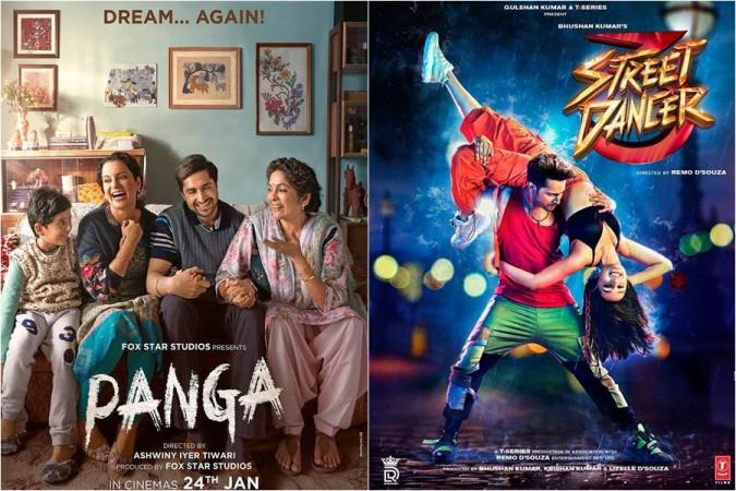 Street Dancer vs Panga
