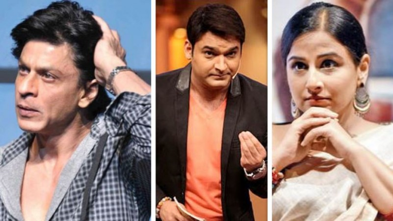 Shah Rukh Khan, Kapil Sharma, Vidya Balan