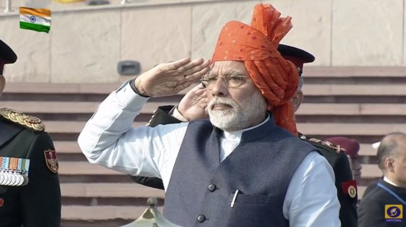 Narendra Modi at national war memorial