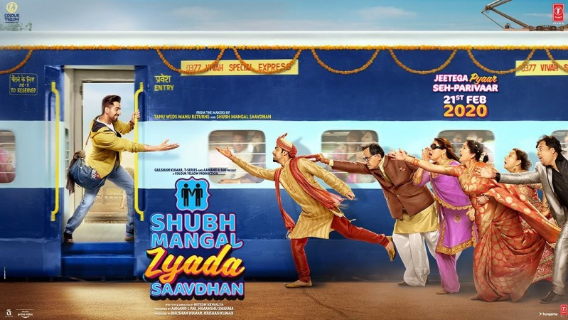 Poster from the film Shubh Mangal Zyada Savdhaan
