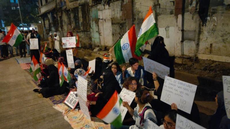 Mumbai CAA protests