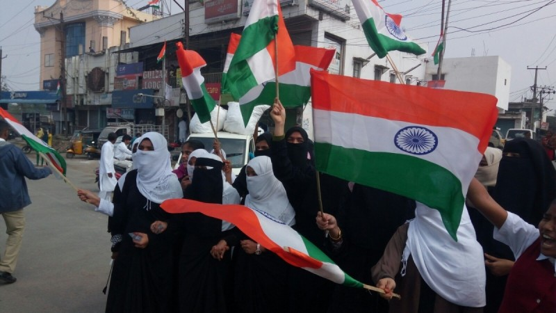 Hyderabad CAA protests