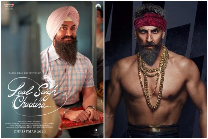 Laal Singh Chaddha, Bachchan Pandey posters