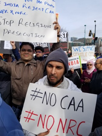 US Citizenship Act protest