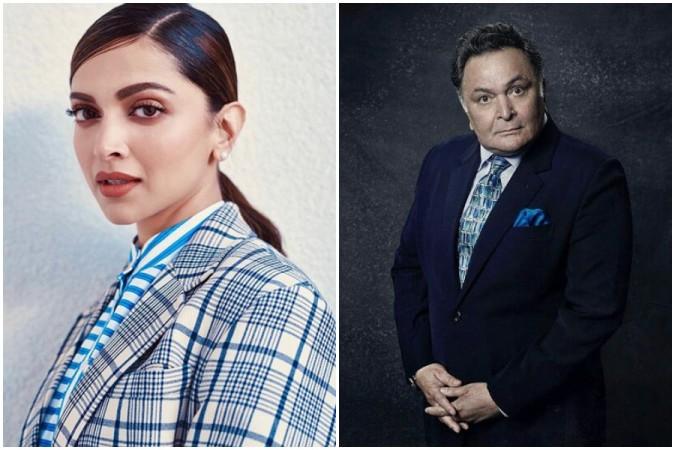Deepika Padukone, Rishi Kapoor