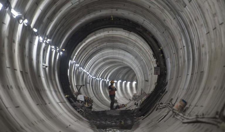 Kolkata underwater metro