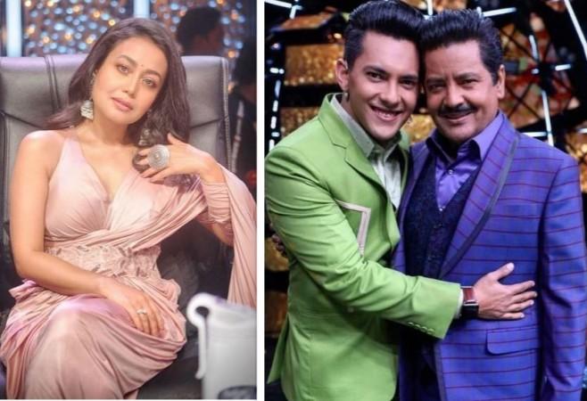 Udit Narayan Upset With Neha Kakkar Aditya Narayan Wedding Stint For Trp