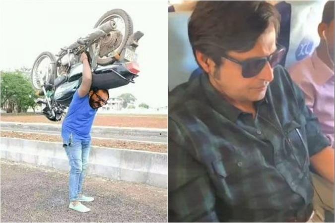 Kunal Kamra and Arnab Goswami